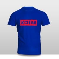Kaos Baju Pakaian Musik Grup Band Kotak Font Murah