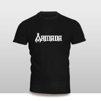 Kaos Baju Pakaian Musik Grup Band Armada Murah