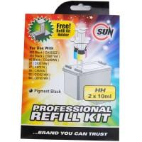 SUN Tinta Refill Kit HP 802 704 703 678 60 46 21 Black atau Colour