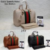harga Tas Murah/Tas Paketan/Tas Fashion/Paket 3in1 Gucci Speedy Hobo Tokopedia.com