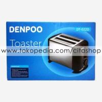 Toaster Pemanggang Roti Listrik Denpoo DT-022D - Citashop