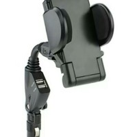 Jual Car Holder Stand with USB Charger Murah