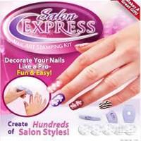 Salon Express Nail Art Staping Kit As See On TV Alat Manicure Pedicure