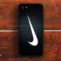 nike just do it black iPhone 4, 4s, 5, 5s, 5C, 6, 6s, 6+, 6s+ Case