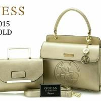 harga Sale Tas Wanita Guess Braelyn #9015# Gold Tokopedia.com
