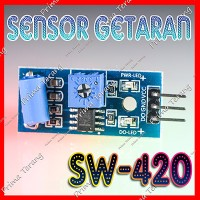 SW-420 Sensor Getaran Alarm Gempa Vibration SW420 Arduino Module