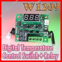 W1209 Digital Temperature Control Switch Thermostat Suhu Temperatur