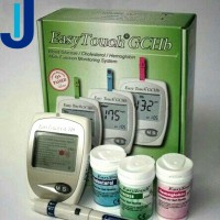 EASY TOUCH GCHB 3 IN 1 GULA DARAH, KOLESTEROL, HEMOGLOBIN