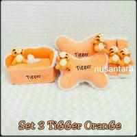harga Bantal Mobil 3 In 1 Tiger Orange Tokopedia.com