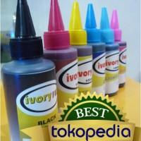 Jual Tinta Isi Ulang Perfect Dye 100ml Epson IVORYFILL Murah