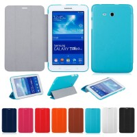 FLIP COVER UME SAMSUNG GALAXY TAB 3 / 3V - LEATHER CASE - SMART CASE