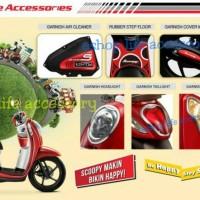 harga Aksesoris Original Headlamp Stoplamp Garnish Honda Scoopy Esp Tokopedia.com