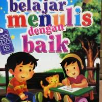 Buku Anak PAUD dan TK, belajar Membaca, Menulis, Menghitung utk pemula
