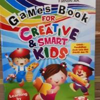 Buku Anak PAUD dan TK, melatih kecerdasan, kreatifitas, bahasa, visual