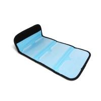 6 Pockets Black Filter Wallet Case for 49mm-82mm Tianya/Cokin P filter