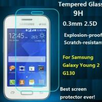 Tempered Glass Antigores Kaca Samsung Galaxy Young 2 G130