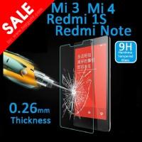 XIAOMI REDMI 1S / Mi1 Screen Protector Tempered Glass Anti Gores Kaca