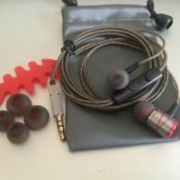 Master DIY Artistic Metal Earphone Head-fi Level Headset with Mic