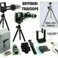 telezoom tripod/lensa universal