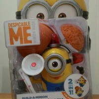 Minion Fireman / Lucy Minions Despicable Me 2 Thinkway Toys ORI