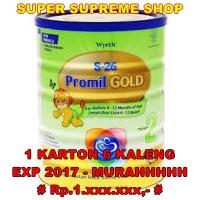 harga S26 Wyeth Promil GOLD 2 900gr (6-12 Bln) - [ 1 KARTON - 6 KALENG ] Tokopedia.com