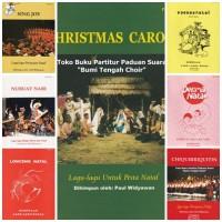 Paket Buku Partitur Paduan Suara Lagu-Lagu Natal SATB