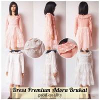Jual Dress Premium Adora Brokat Murah