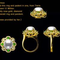harga Jewelry Design, 18k White Gold Jewelry, Wedding Ring 2 Tokopedia.com