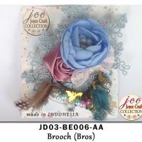 Bros Bunga Kain & Manik Handmade - JD03-BE006-AA