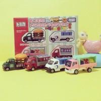 Tomica Gift Set Food Truck Car Shop