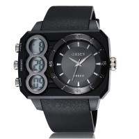 Ohsen Oversized Waterproof Quartz Digital Sport Watch