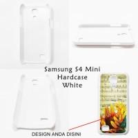 Samsung Galaxy S4 Mini Hardcase White - Custom Case