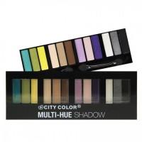 City Color Multi Hue Eye Shadow Palette