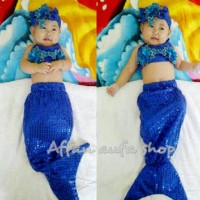 harga Baju Anak / Baju Bayi Putri Duyung (0-1th) Tokopedia.com