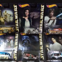 HW POP CULTURE STAR WARS SET ( 6 pcs )
