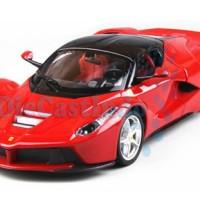 Bburago - La Ferrari Merah Skala 1:24