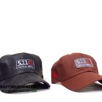 Topi 511 tactical series outdoor hat bahan kulit