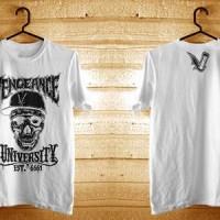 harga Kaos Avenged Sevenfold Desain Vengeance University Kaos Putih (a7x) Tokopedia.com