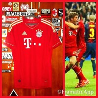 Jersey Bayern Muenchen Home 2012/2013
