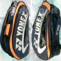 Tas bulutangkis / Badminton Yonex Black/Orange
