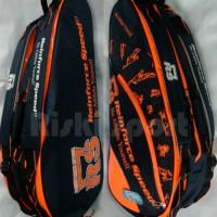 Tas Bulutangkis / Badminton RS New 2015 Black/Orange