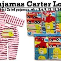 Piyama Carter 2 In 1 - (2set Piyama Celana Dan Lengan Panjang)