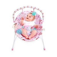 Bright Starts Pretty In Pink Bouquet Surprise Vibrating Bouncer Color