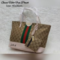 harga Tas Lokal/Tas Murah/Tas Fashion/Gucci Hobo Canvas Free Pouch Tokopedia.com