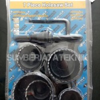 harga Hole Saw Kit 7pc Tokopedia.com