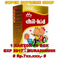 harga Chil Kid Morinaga Regular Vanila 3 800gr (1-3 Thn) - [1 Karton  6 Box] Tokopedia.com