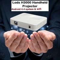 harga LODS Pocket H3000 Mini WiFi Bluetooth DLP Projector Android + Battery. Tokopedia.com