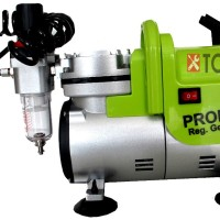 Kompresor /compressor air brush/ penbrush utk motor / kue tart/ gambar