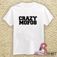 Kaos Distro   Kaos Oblong One Direction Crazy Mofos
