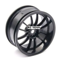harga Rc Wheel Plastic Rim Set 3mm Fit Hsp Hpi 1:10 On-road Racing Car Tires Tokopedia.com